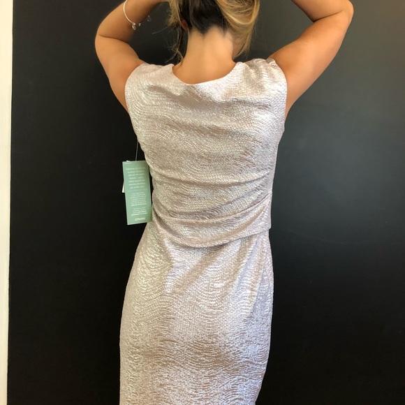 Scarlett Dresses & Skirts - Scarlett Women's metallic gold sleeveless dress 8